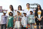 Huma Qureshi, Farah Khan, Arbaaz Khan And Neha Dhupia at the Shiksha Event Pic 2