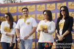 Huma Qureshi, Farah Khan, Arbaaz Khan And Neha Dhupia at the Shiksha Event Pic 1