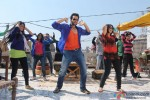 Jackky Bhagnani Dancing 'Gangnum Style' on the sets of 'Rangrezz' Pic 2
