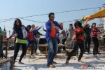 Jackky Bhagnani Dancing 'Gangnum Style' on the sets of 'Rangrezz' Pic 4