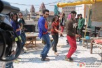 Jackky Bhagnani Dancing 'Gangnum Style' on the sets of 'Rangrezz' Pic 5