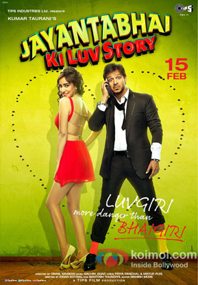 Jayantabhai Ki Luv Story Review (Jayantabhai Ki Luv Story Movie Poster)