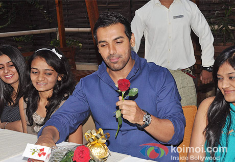 John Abraham Promotes I Me Aur Main with coffee date