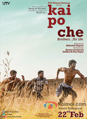 Kai Po Che Review (Kai Po Che Movie Poster)