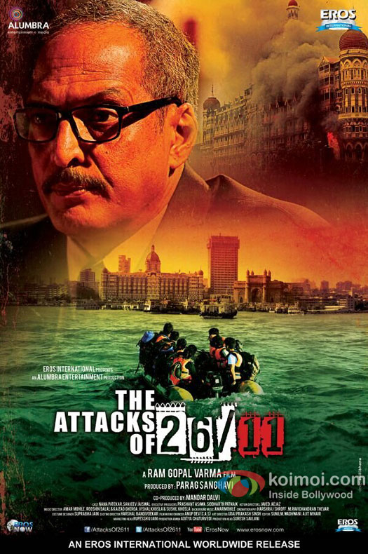 Nana Patekar In The Attacks Of 26/11 Movie Poster