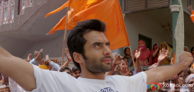 Jackky Bhagnani in Nand Ka Lala Re song in Rangrezz Movie Stills
