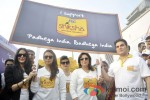 Neha Dhupia, Huma Qureshi, Farah Khan And Arbaaz Khan at the Shiksha Event Pic 1