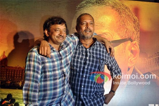 Ram Gopal Varma And Nana Patekar at the music launch of RGV's The Attacks of 26/11 Pic 2