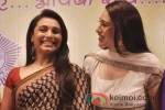 Rani Mukerji And Karisma Kapoor at a event organised by Mumbai Police to discuss Rights on Womens Voilance Pic 2