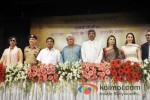 Shabana Azmi, Dr. Satyapal Singh, R. R. Patil, Javed Akhtar, Rani Mukerji, Karisma Kapoor And Alyque Padamsee at a event organised by Mumbai Police to discuss Rights on Womens Voilance