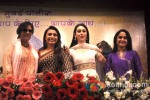 Shabana Azmi, Rani Mukerji, Karisma Kapoor, Mrinal Dev-Kulkarni at a event organised by Mumbai Police to discuss Rights on Womens Voilance