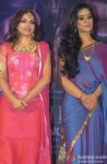 Soha Ali Khan and Mahie Gill At First Look Launch of 'Saheb Biwi Aur Gangster Returns'