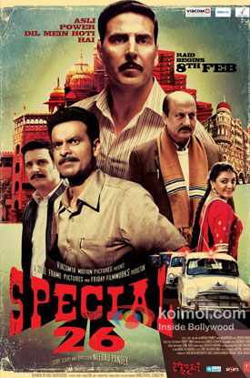 Special Chabbis (26) Review (Special Chabbis (26) Movie Poster)