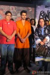 Vashu Bhagnani, Jackky Bhagnani and Pinky Bhagnani At Trailer Launch Of Film 'Rangrezz'