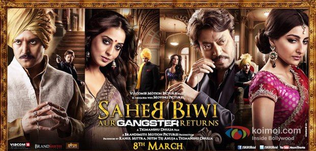 Saheb Biwi Aur Gangster Returns Movie Poster