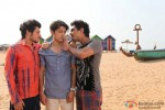 Divyendu Sharma, Ali Zafar and Siddharth in Chashme Baddoor Movie Stills Pic 3