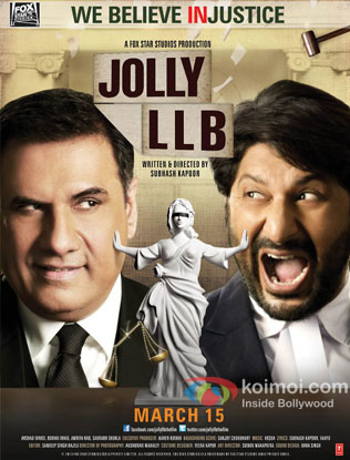 Jolly LLB Review (Jolly LLB Movie Poster)