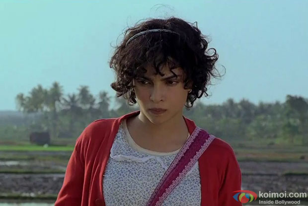 Priyanka Chopra in a still from Barfi! Movie
