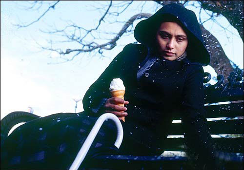Rani Mukerji in a still from Black Movie