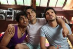 Siddharth, Ali Zafar and Divyendu Sharma in Chashme Baddoor Movie Stills