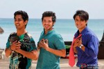 Siddharth, Divyendu Sharma and Ali Zafar in Chashme Baddoor Movie Stills