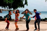 Siddharth, Taapsee Pannu, Divyendu Sharma and Ali Zafar in Chashme Baddoor Movie Stills
