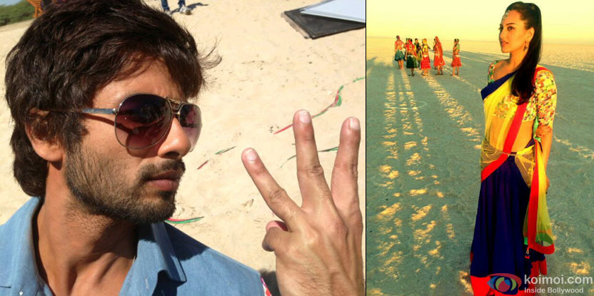 On The Sets Of 'Rambo Rajkumar'