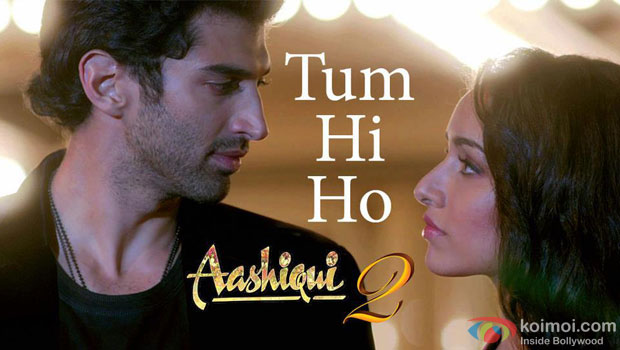 Aditya Roy Kapoor and Shraddha Kapoor in Tum Hi Ho Song in Aashiqui 2 Movie Stills