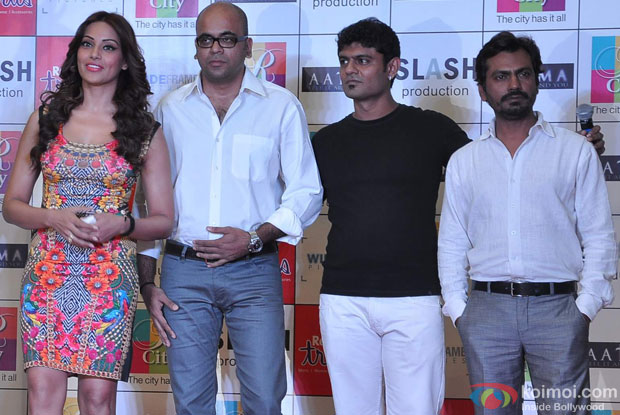Bipasha Basu, Suparn Verma and Nawazuddin Siddiqui at Aatma Music Launch