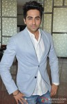 Ayushmann Khurrana at the launch of theatrical trailer of film Nautanki Saala