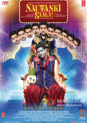 Nautanki Saala Review (Nautanki Saala Movie Poster)