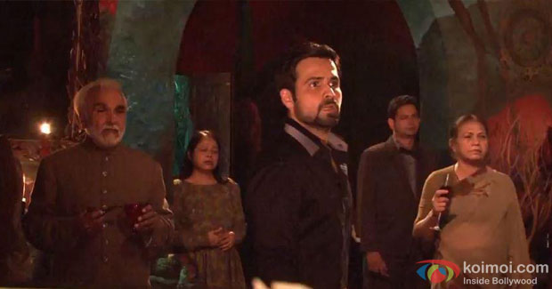 Emraan Hashmi on the sets of Ek Thi Daayan Movie