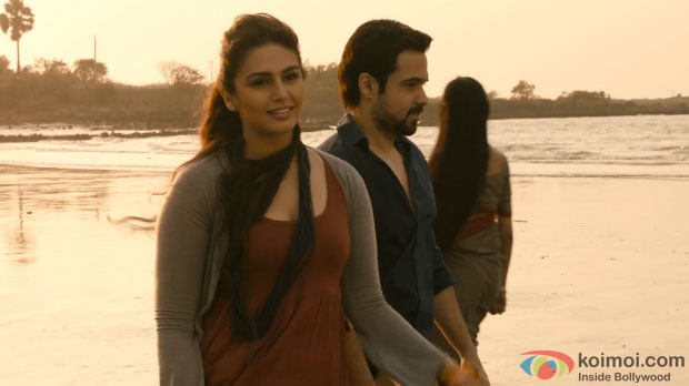 Huma Qureshi and Emraan Hashmi in a still from Ek Thi Daayan Movie