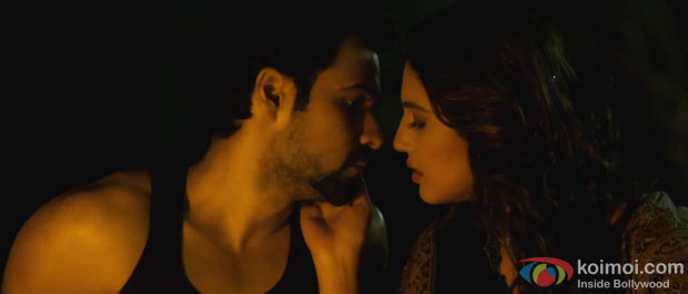 Emraan Hashmi and Huma Qureshi in Kaali Kaali song in Ek Thi Daayan Movie Stills