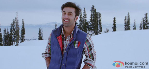 Ranbir Kapoor in a still from Yeh Jawaani Hai Deewani Movie