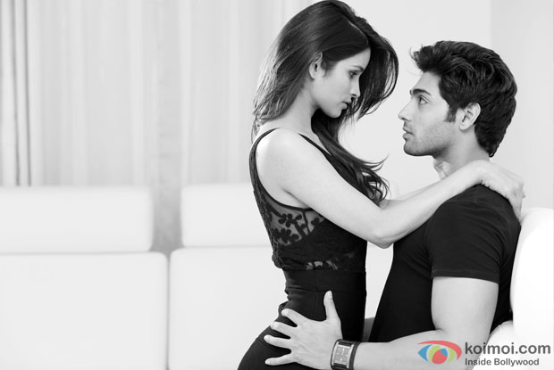 Ruslaan Mumtaz and Chetna Pande in a still from I Don't Luv U Movie