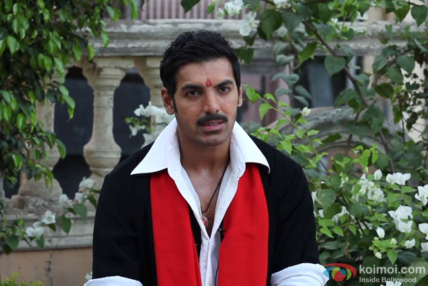 John Abraham (Manya Surve) on the sets of Shootout At Wadala Movie