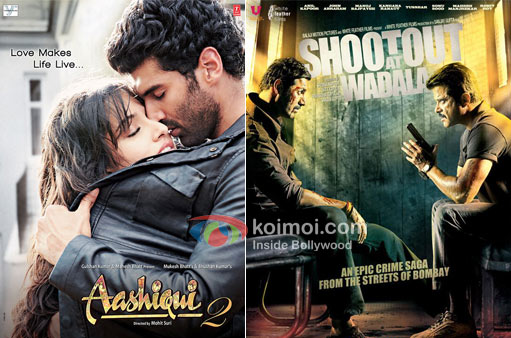 Aashiqui 2 And Shoot out at wadala movie Poster