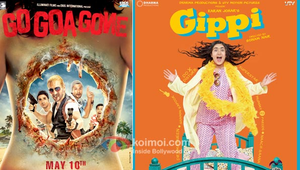 Go Goa Gone And Gippi movie Poster