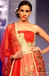 Hot Model walk the ramp at 'Rajasthan Fashion Week' 2013 Pic 3