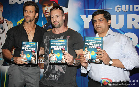 Hrithik Roshan unveils 'Guide To Your Best Body' Book