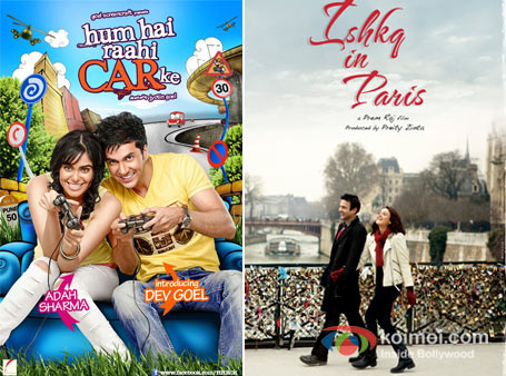 Hum Hain Raahi Car Ke And Ishq in Paris Movie Poster