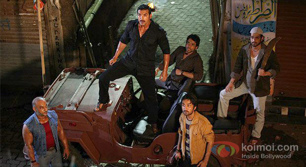 John Abraham And Tusshar Kapoor in Shootout At Wadala Movie Stills