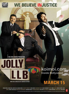 Jolly LLB Movie Poster