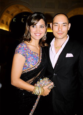 Lara Dutta And Kelly Dorji