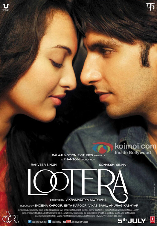 Sonakshi Sinha and Ranveer Singh starrer Lootera Movie Brand New Poster