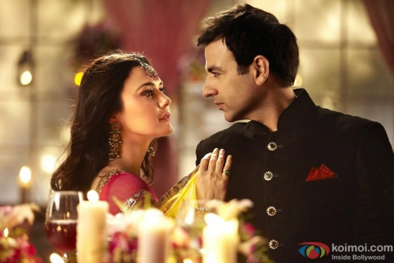 Preity Zinta and Rhehan Malliek in Ishkq In Paris Movie Stills