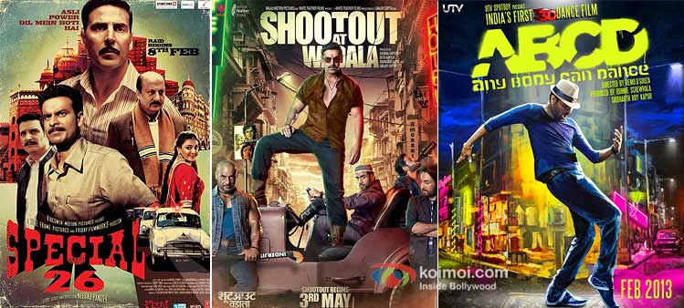 Special Chabbis, Shootout At Wadala And ABCD-Any Body Can Dance Movie Poster