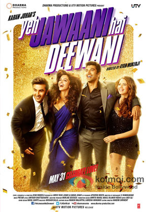 Yeh Jawaani Hai Deewani Review (Yeh Jawaani Hai Deewani Movie Poster)
