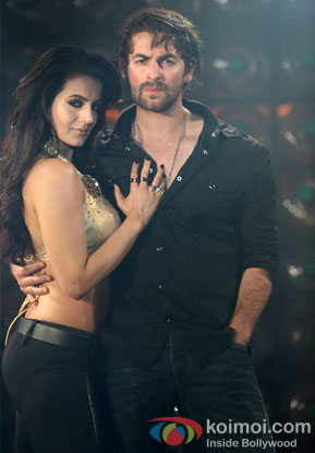 Ameesha Patel and Neil Nitin Mukesh in Ishq Gangster Song Shortcut Romeo Movie Stills